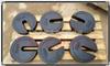 SR表面光滑/25公斤圆饼砝码材质生铁