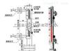 UHZ-58/F不锈钢内衬四氟防腐磁翻板液位计