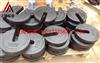 黑色生铁10公斤C字形砝码/铸铁材料20公斤增砣砝码